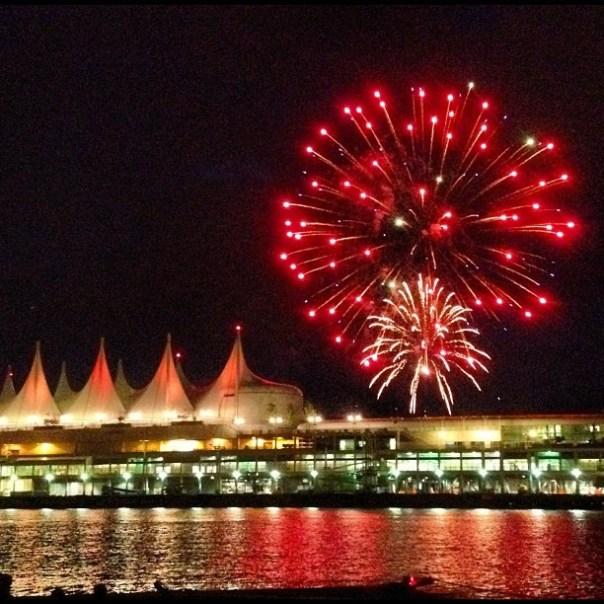 Happy #CanadaDay! #Fireworks - from Instagram