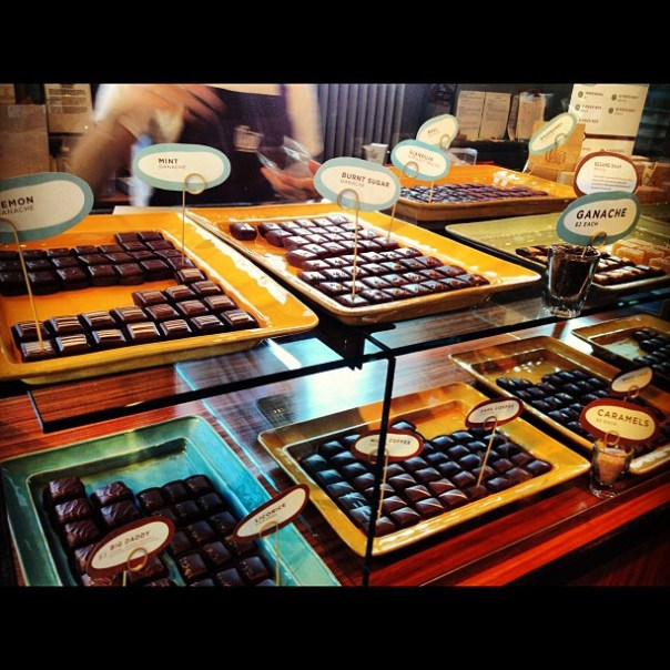 #Theo's #Chocolate factory! #2daysinseattle - from Instagram