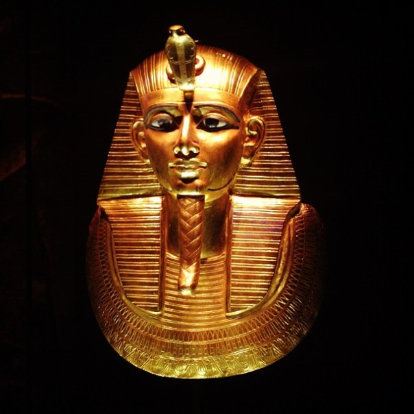 Golden Mask of #Psusennes I - from Instagram