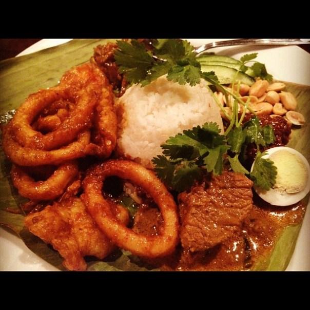Oh my #exotic dinner! #Nasi #Lemak - from Instagram
