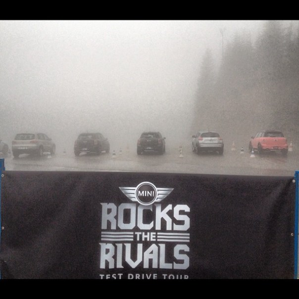 The weather is too beautiful for driving @MiniCanada #MiniRocksTheRivals - from Instagram