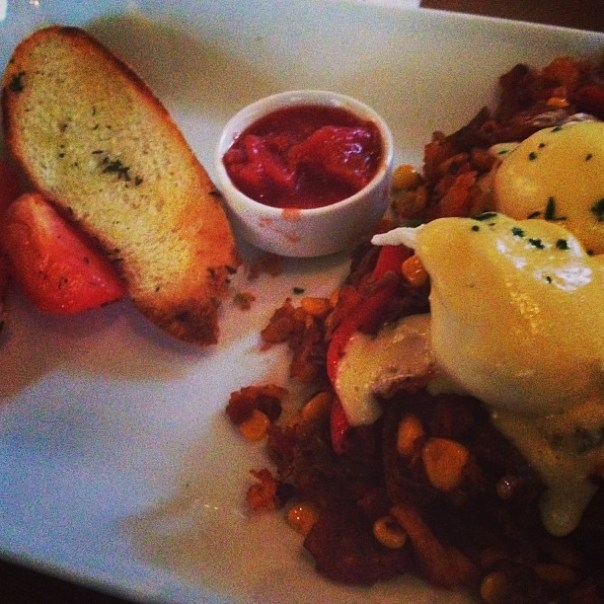 Prime Rib Hash. #brunch - from Instagram