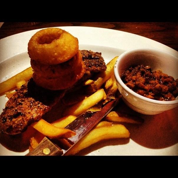 Bon appetit! #Steak & #Chips #dinner - from Instagram