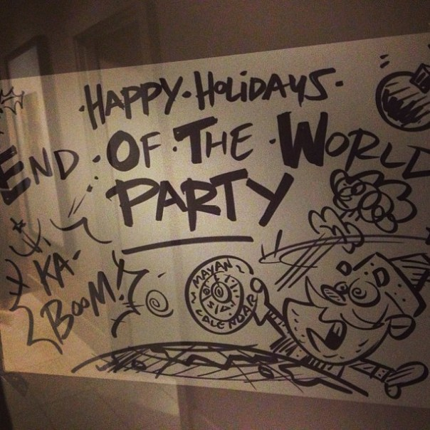 Keep on dancing till the world ends! #EndOfTheWorld #Party - from Instagram