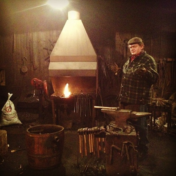 The real blacksmith! This place reminds me of #WOW #KhazModan! #dwarf #ironforge - from Instagram
