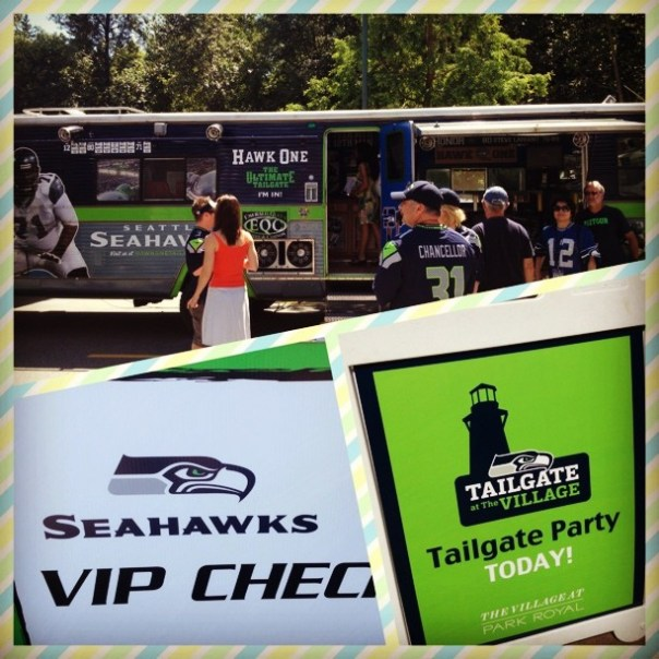 #Seahawks Canada - Tailgate #party #NFL #Seattle - from Instagram