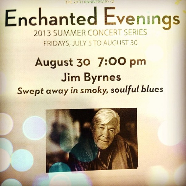 Enchanted #Concert Evening #blues - from Instagram