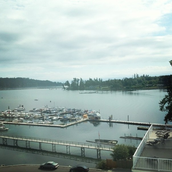 Day 2. The room view a view! #waterfront #BestWestern #hotel #sooke - from Instagram