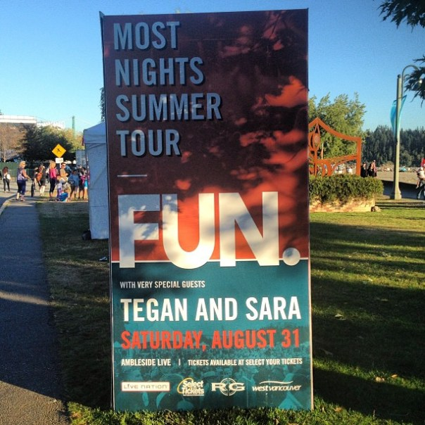 #Fun & Tegan & Sara #concert - from Instagram