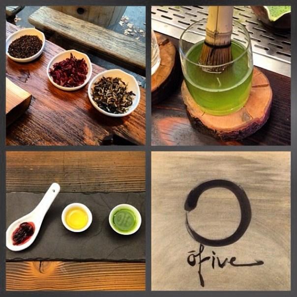 5th stop of the night @O5Tea #Macha #Hibiscus #kombucha #Tea #Zen #tastingplatesyvr - from Instagram