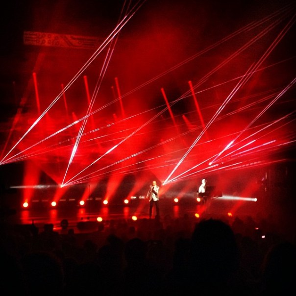 It's a it's a it's a #Sin! #petshopboys #electric #concert #vancouver - from Instagram