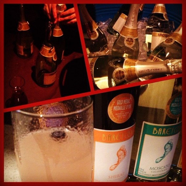 Create your own #Mimosa @barefootwine's #pedi4cause party - from Instagram