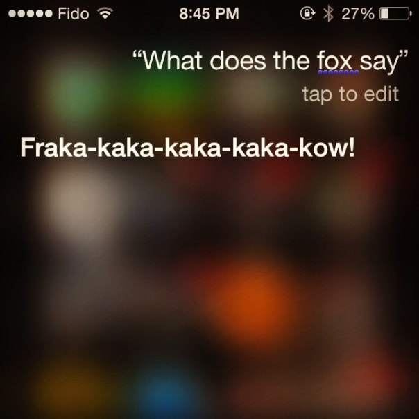 My #Siri is smarter than yours! #Ylvis - from Instagram