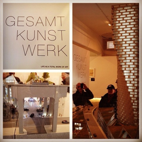The secret has been revealed! @gwerkca #gesamtkunstwerk #vancouver #architect #art - from Instagram