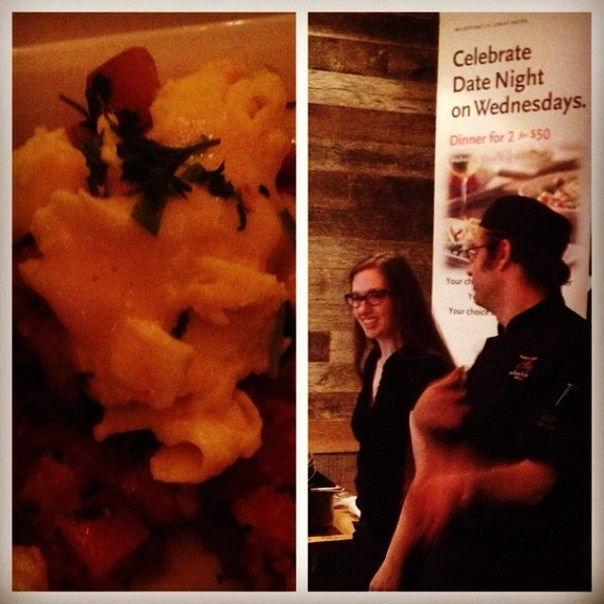 3rd stop of the day! Culinary Scavenger Hunt w/ chef Robyn @MilestonesYale #vfscavhunt - from Instagram