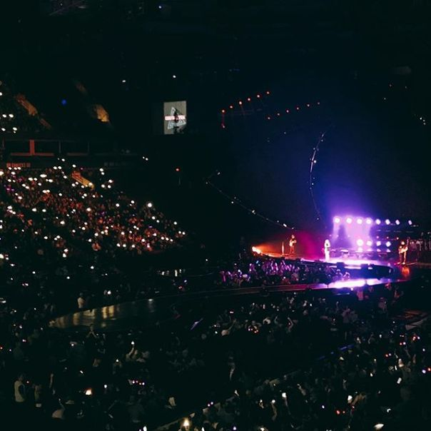 Carly Rae Jepsen opening the show #witnesskp 👁 @rogersarena #vancouver #witnessthetour - from Instagram