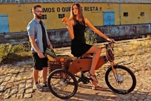 RAIOOO-tricicleta lemn
