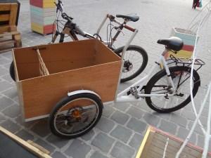 tricicleta electrica piata sfatului
