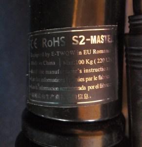 eticheta model trotineta e-twow