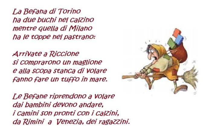 La befana di Torino