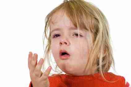 tosse bambino bambina