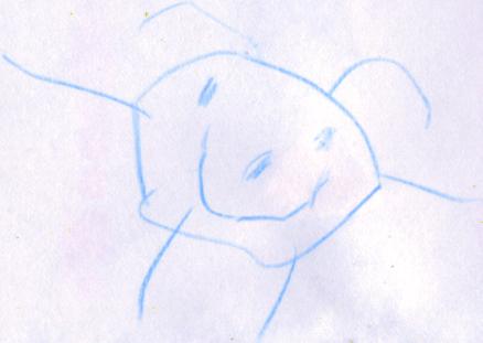 disegno bambino sole