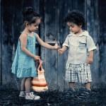 I bambini capaci di condividere saranno adulti di successo