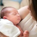 L'odore della mamma è magico per il bebé