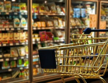 carrinho no supermercado