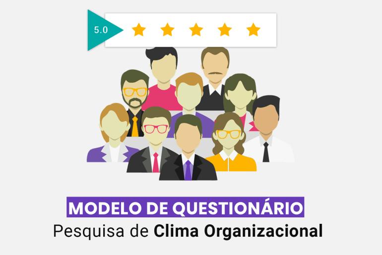 modelo de questionário de clima organizacional