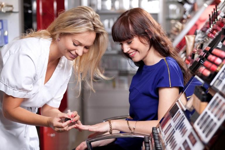 Atendimento de manicure, personalizado