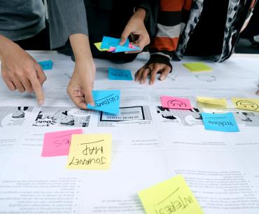 brainstorm de planejamento estratégico de marketing