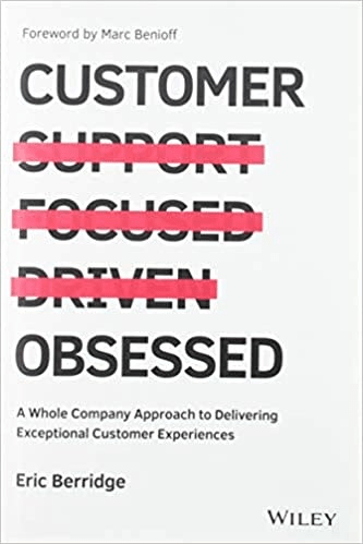 """Imagem da capa do livro """"Customer Obsessed"""" – Eric Berridge"""