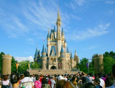 castelo Cinderela Disney - metodo disney para encantar clientes