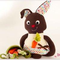 Nähen für Ostern: Henni Osterhase ist fertig!