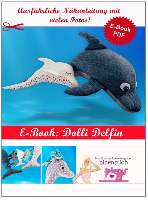 Anleitung Dolli Delfin nähen