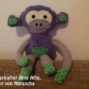 """Zauberhafter Affe, genäht von Nähanfängerin Natascha, nach dem binenstich-Ebook """"Arni Affe"""""""