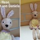 """Hanna Hase, genäht von Daniela nach dem binenstich-E-Book """"Hanna & Henry Hase"""""""