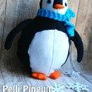 "Pelli Pinguin, genäht von Kristin, bluemchenswelt.blogspot.de, nach dem binenstich-E-Book ""Pelli Pinguin""   binenstich.de"