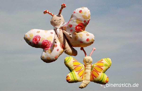 Frühling nähen: Nähanleitung Siri Schmetterling