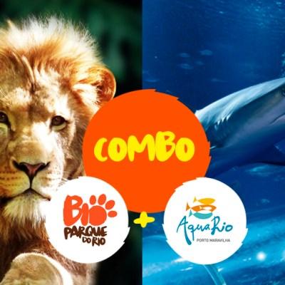 Combo: BioParque do Rio + AquaRio