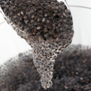 Soaked chia seeds mucilage
