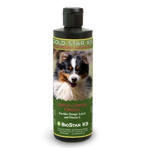 Gold Star K9 | Cold Pressed camelina oil for dogs | BioStar US