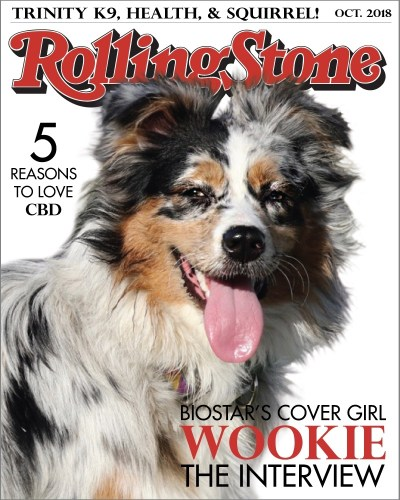 Wookie on the Cover of Rolling Stone