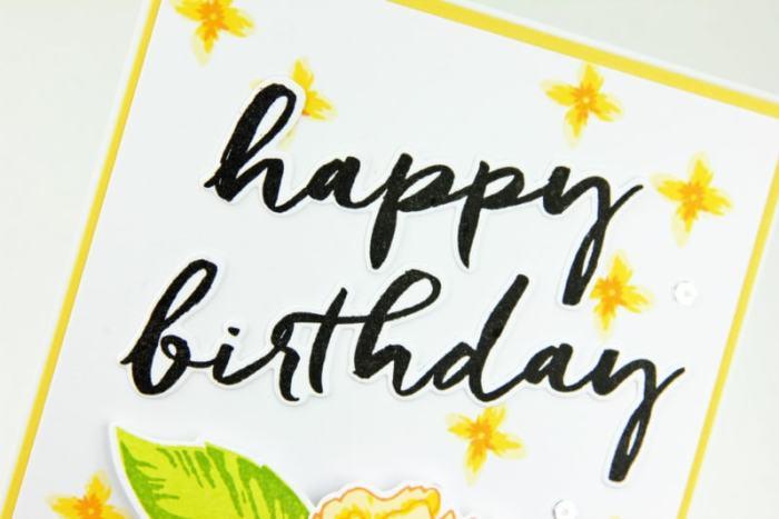 Birthday Peony Five