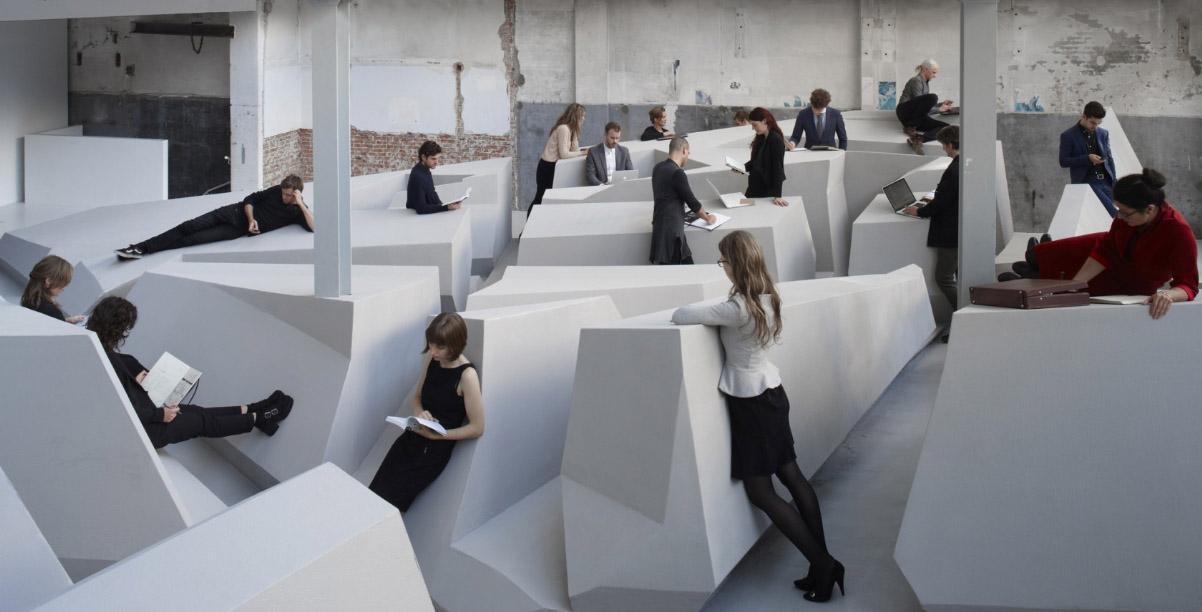 comment travailler dans un bureau en open space