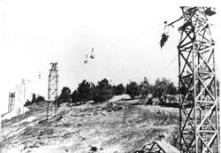 Aerial tram towers