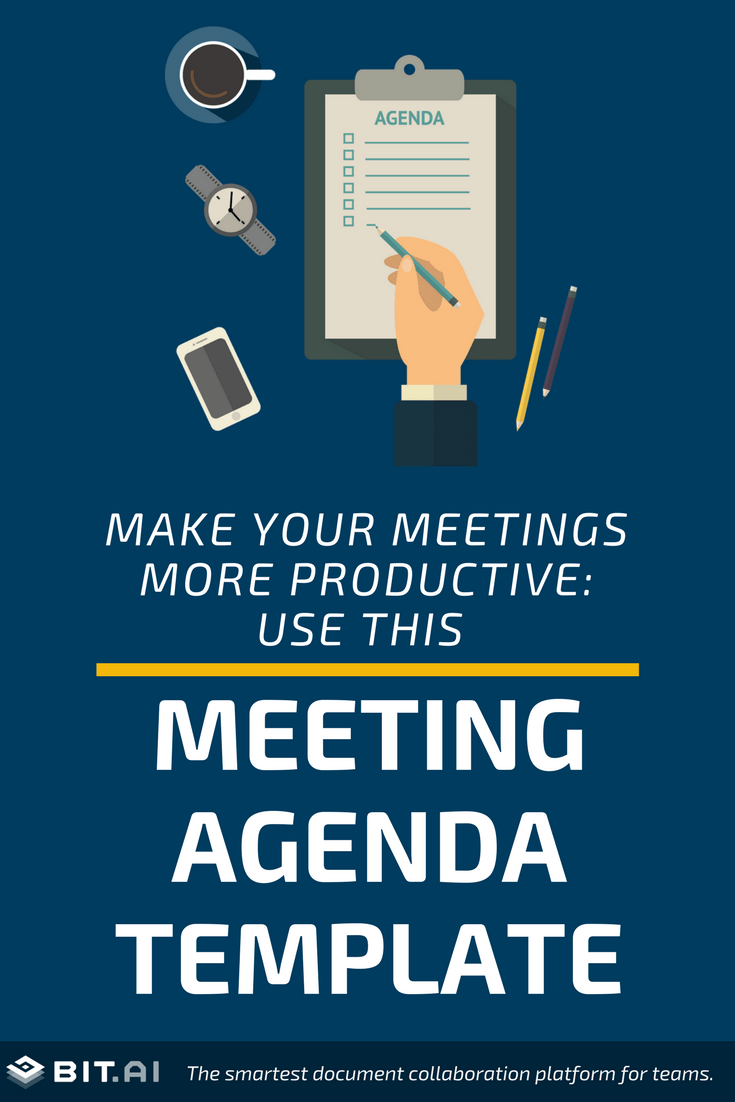 It helps you stay on track and accomplish important goals. Meeting Agenda Template How To Create An Effective Agenda