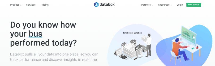 Databox: Dashboard software
