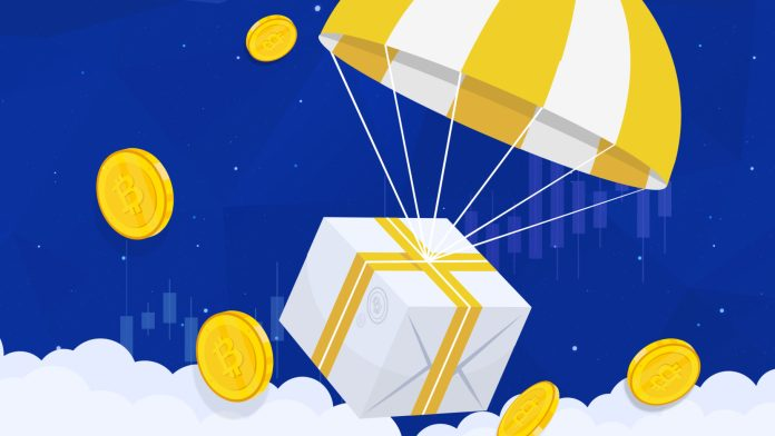 Airdrop – бесплатная раздача криптовалюты